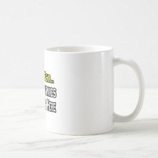 Have No Fear, The Economics Teacher Is Here Basic White Mug