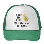 Have No Fear The German Is Here Cap