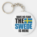 Have No Fear, The Swede Is Here Keychain