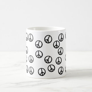 Have Peace-Filled Coffee! Basic White Mug