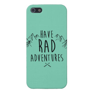 Have Rad Adventures Phone Case Case For The iPhone 5