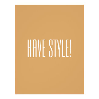 Have Style Hipster File 21.5 Cm X 28 Cm Flyer