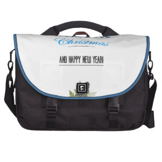 Have to wonderful Christmas and to Happy new to ye Laptop Commuter Bag