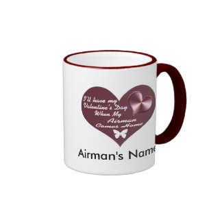 HAVE VAL DAY AIRMAN HOME COFFEE MUGS