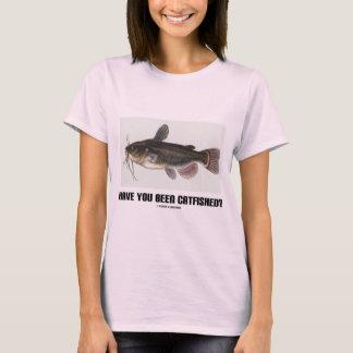 Have You Been Catfished? (Catfish Illustration) T-Shirt