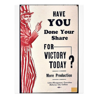 Have You Done Your Share For Victory Today? 21.5 Cm X 28 Cm Flyer