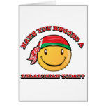 Have you hugged a Belarusian today? Greeting Cards