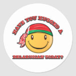 Have you hugged a Belarusian today? Classic Round Sticker