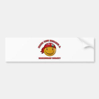 Have you hugged a Bermudan today? Bumper Sticker