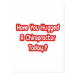 Have You Hugged A Chiropractor Today?