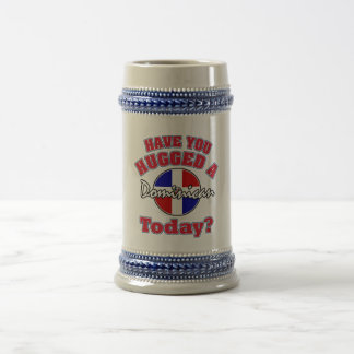 Have you hugged a Dominican today? Beer Stein