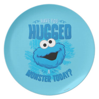 Have You Hugged a Monster Today Plate