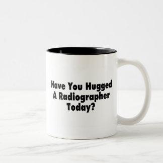 Have You Hugged A Radiographer Today Two-Tone Mug