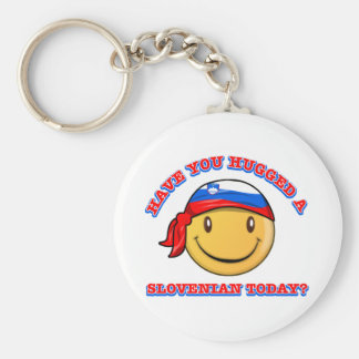 Have you hugged a Slovenian Key Ring