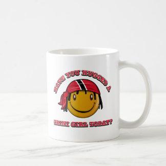 Have you hugged a Trini girl today? Coffee Mug