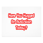 Have You Hugged An Australian Today? Invitations