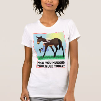 Have you Hugged Your Mule Today? T-Shirt