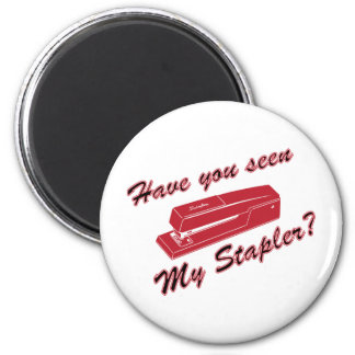 Have you seen my stapler? 6 cm round magnet