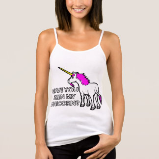Have You Seen My Unicorn Tank Top