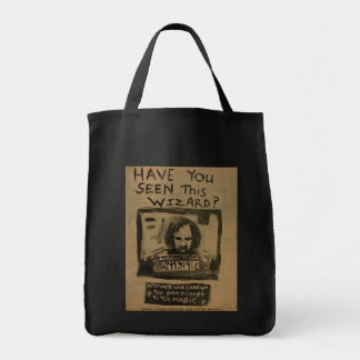 HAVE YOU SEEN THIS WIZARD GROCERY TOTE BAG