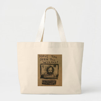 Have You Seen This Wizard? Jumbo Tote Bag