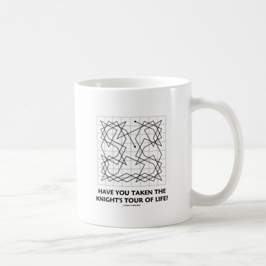 Have You Taken The Knight's Tour Of Life? (Open) Coffee Mug
