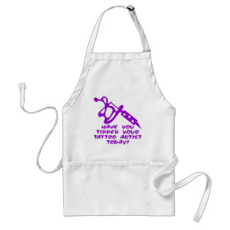 Have You Tipped Your Tattoo Artist Today Standard Apron