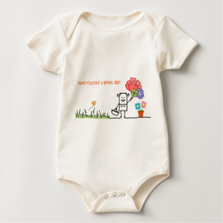 Have Yourself A Great Day Organic Cotton Bodysuit