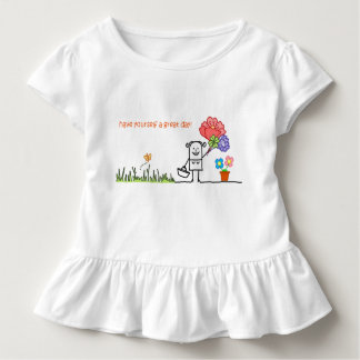 Have Yourself A Great Day Ruffle T shirt