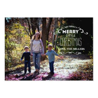 Have yourself a Merry Little Christmas 13 Cm X 18 Cm Invitation Card