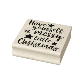 Have Yourself a Merry Little Christmas Art Stamp