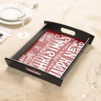 Have Yourself a Merry Little Christmas Food Trays