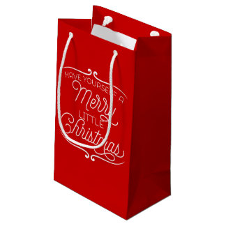Have Yourself A Merry Little Christmas Small Gift Bag