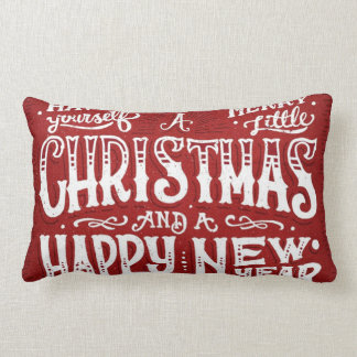 Have Yourself a Merry Little Christmas Lumbar Pillow
