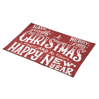 Have Yourself a Merry Little Christmas Place Mat