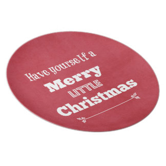 Have Yourself a Merry Little Christmas Plate