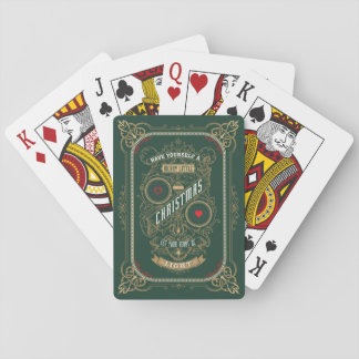 Have Yourself a Merry Little Christmas Playing Cards