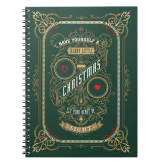 Have Yourself a Merry Little Christmas Spiral Notebooks