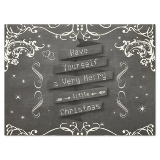 "Have Yourself a Merry Little Christmas Stars 17"" X 23"" Tissue Paper"