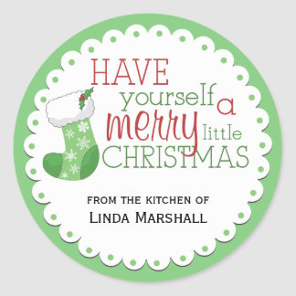 Have Yourself a Merry Little Christmas Sticker