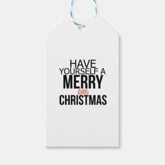 Have Yourself a Merry Little Christmas | Tags