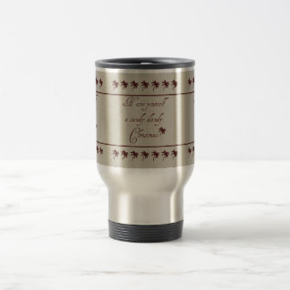 Have Yourself A Sandy Dandy Christmas Stainless Steel Travel Mug