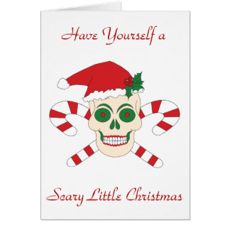 Have Yourself a Scary Little Christmas Card