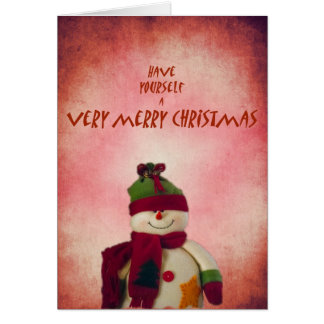 Have Yourself A Very Merry Christmas Greeting Card