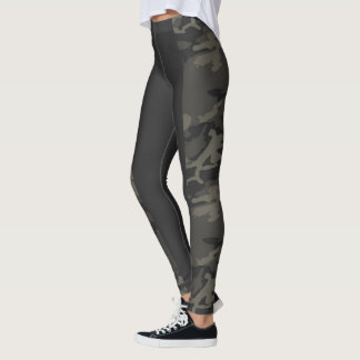 HAVEL CAMO LONG STRIPE LEGGINGS