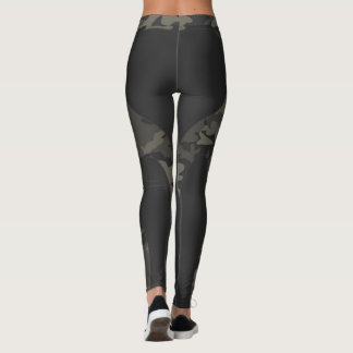 HAVEL HEART BUN CAMO LEGGINGS