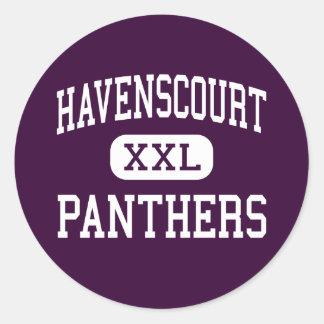 Havenscourt - Panthers - Junior - Oakland Round Sticker