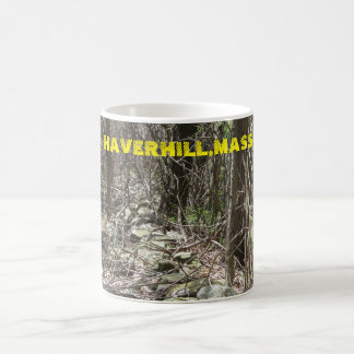 HAVERHILL,MASS CAMO ROCK LINE BASIC WHITE MUG