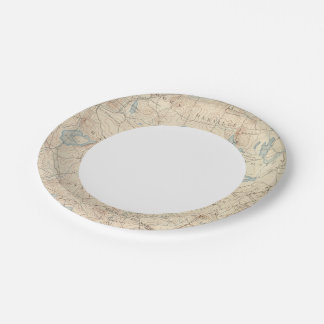 Haverhill, Massachusetts 7 Inch Paper Plate