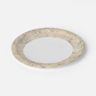 Haverhill, Massachusetts Paper Plate